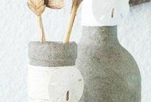 κατασκευές & διακόσμηση μπουκαλιών ποτήριων & κορνίζες