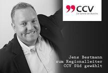 Call Center Verband - Aktivitäten / Mit 2 Ehrenämtern als Regionalleiter sind wir aktiv bei der Verbandsarbeit tätig. Jens Bestmann: Region CCV Süd und Olaf Skirde: Region CCV Nord.
