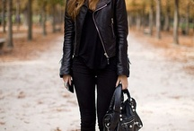 street girl (leather jacket)