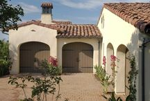 Mediterranean Style Design | Garage Doors / See what garage doors look best on Mediterranean style homes