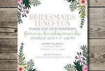 Hayley's bridesmaid luncheon