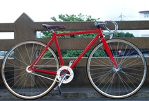 My Red Fixed Gear / by ChickKa Chick