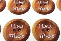 Home Crafts / Stickers for home made bakes and makes, adds the finishing touch to home made presents.