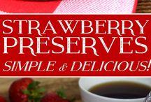 jams, jellies and desserts