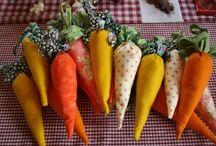 légumes feutrine