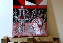 Paintings my work