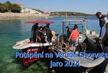 Potápění na Verudě v Chorvatsku