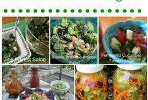 Probiotic Salads and Dressings! / Salads and Dressing loaded with fermented foods!