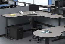 Ergonomic Workstations / According to the American Academy of Orthopedic Surgeons (AAOS), back injuries are the number-one work-related hazard in the United States. Among their recommendations for preventing back pain at work (as well as at home) if you must spend long periods sitting at a desk, is to try to stand once an hour and stretch.