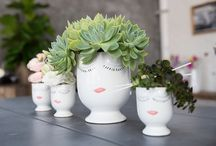 Flower Vases, Bowls & Containers For Unique Floral Designs / New for 2016,  from Accent Decor…unique and stylish pots, bowls and vases plus one of a kind accessories for any occasion.