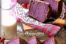 Sponge or a chiffon cake