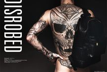 """Disrobed"" by photographer Darren Black / STEPHEN JAMES IN DISROBED, HEDONIST MAGAZINE BY PHOTOGRAPHER DARREN BLACK"