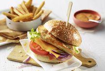 Geflügel-Burger