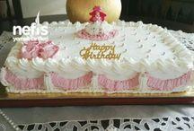 40 kisilik yas pasta