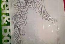 diseños de dibujos para bordar y recamar