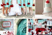 Wedding | Blu & Red