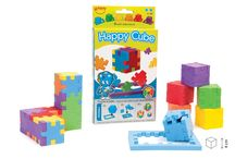 Happy Cube / How flexible is your brain? Please make acquaintance with the Happy family. Young and old live trough endless joy and pleasure with the puzzles. From 2D puzzles towards 3D cubes, from easy towards brainteasers; explore the challenge! Explore the Happy concept!