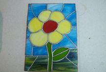 Flowers by It's About Creativity Stained Glass Studio / Flowers