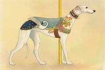 Greyhound Whippet Italian greyhound