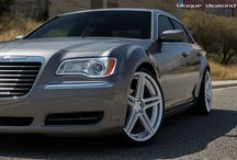 2012 Chrysler 300C with 22 Inch BD-6's in Silver Polish / Go to www.blaquediamond.com to check out our full range