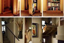Secret Rooms, Storage, Tunnels, Passages