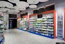 FARMACIA S.ADRIANO - PHARMACIES in Italy / Arredamento Farmacia :  Farmacia S.ADRIANO, Binasco (MI) project Arketipo Design Milano-Italy