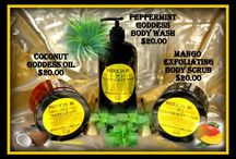 Our amazing new Patricia Be- Peppermint Body Wash & Mango Exfoliating Scrub are now available / No matter what body wash I used, my skin continued to be dry and itchy.  It turned out, I was allergic to sulphate (also called sodium lauryl Sulphate) which is in everything from soap, to body wash to shampoos.  I spent a year working with a natural skin care chemist and finally created a Body Wash that is hydrating, free of chemicals and sulphates and made specifically for our dry Colorado climate. It is affordable, smells amazing and can be ordered through: www.patriciabe.com  / by Patricia's Big Closet