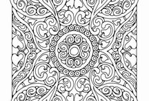 Colouring for Relaxation / Colouring pictures