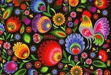 Polisht Design / folk,Polska,kwiaty