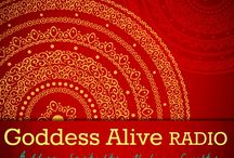 Goddess Alive Radio  / Goddess Alive Radio is the weekly Blogtalk Radio show for The MotherHouse of the Goddess - Spirituality, Goddess, Healing and Laughter.  Join us for great interviews, music and meditations! All links below are links to the archived podcasts! #goddessalive #inspiremechat