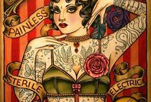 Old Circus & Sideshow Posters / Old Circus & Sideshow Posters