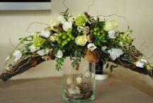 paas/lente bloemstukken
