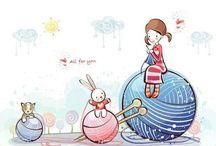 Ilustraciones tejedoras
