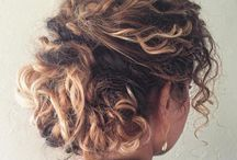 Curly up do's