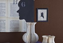 Using Old Books as Decor