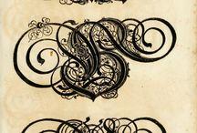 Calligrafia e Caratteri.
