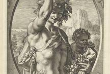 Античные сюжеты, графика, рисунки