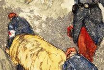 la guerre de 1918/1918 vue par les artistes / la représentation de la première guerre dans les arts
