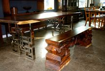 Modern Solid Wood Dining Table in Florida