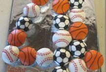 sports mad birthday cake