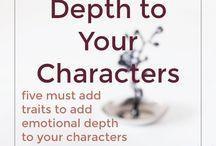 Writing~creating character depth