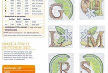 Cross Stitch - Monograms