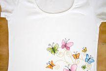 pintura de camisetas