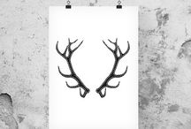 Woodland Decor / Inspiring finds gathered from the woods