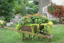 wheelbarrow ideas