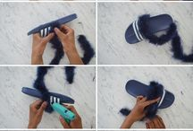 diy clothes shoes
