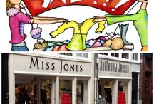 Miss Jones / Shop for clothes, shoes and bags. 9Straatjes Amsterdam