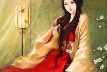 Beauties Chinese women. Красавицы-китаянки.
