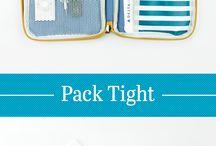 Embalagens e acessorios de viagem