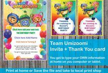 Team umizoomi birthday